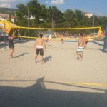 The best beach Volleyball in town!