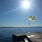 The Sun, sea and parasailing at WSC